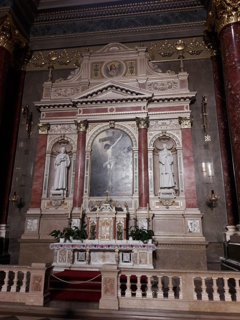 Базилика Святого Иштвана фото внутри