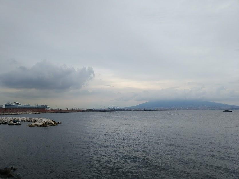 Неаполь Везувий фото