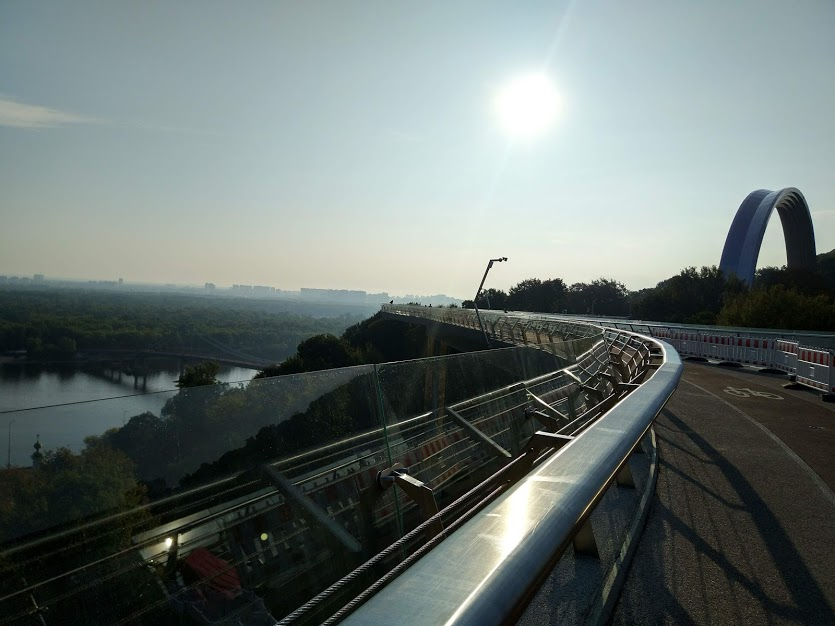 киев стеклянный мост фото