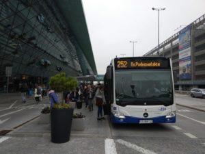 краков аэропорт как добраться с автовокзала