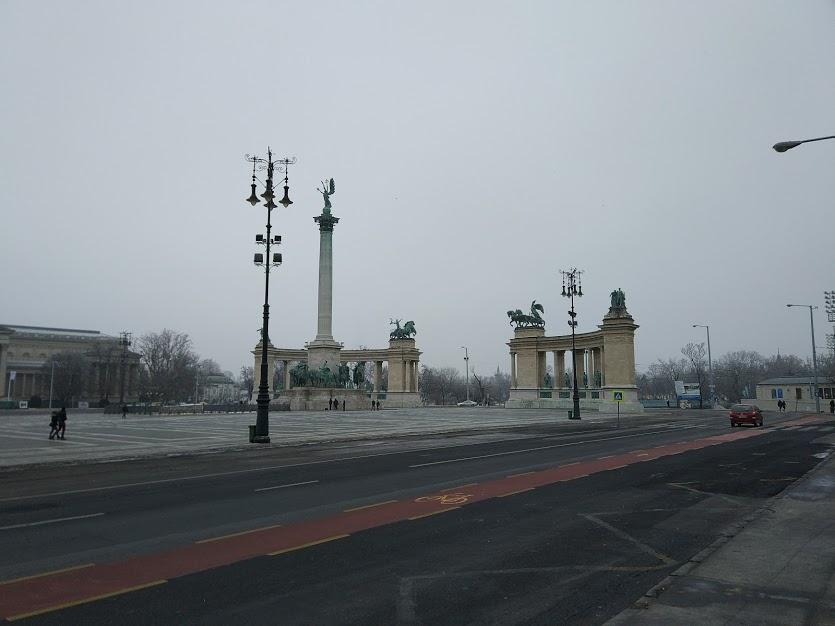 Будапешт погода зимой
