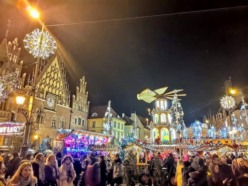 рождественская ярмарка во вроцлаве 2019