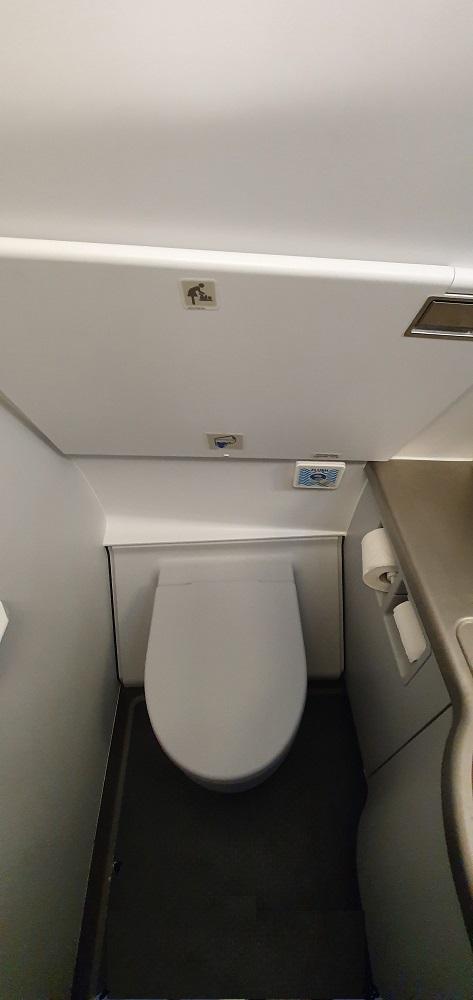 куда смывается туалет в самолете
