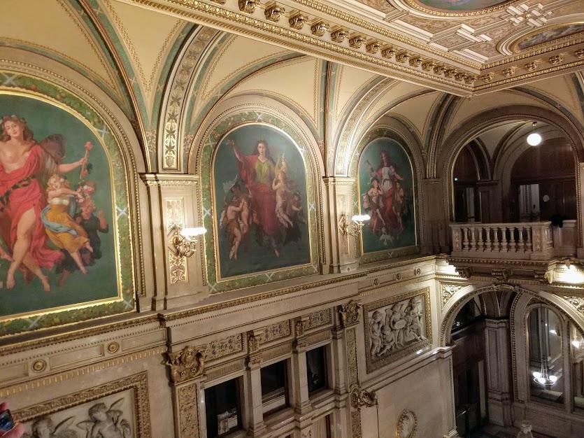 венская опера внутри