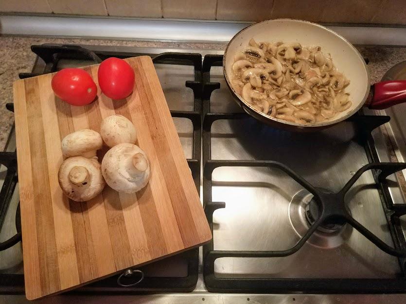 фриттата на сковороде