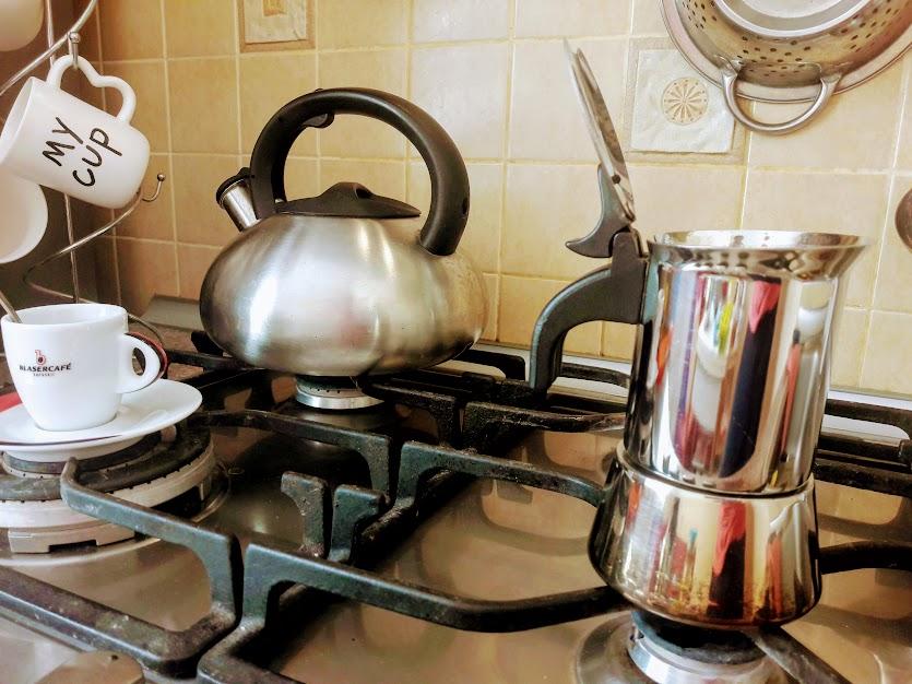 гейзерная кофеварка биалетти
