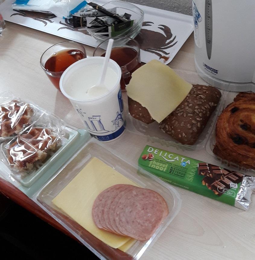 континентальный завтрак это