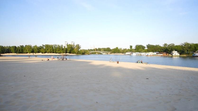 нудистский пляж киев