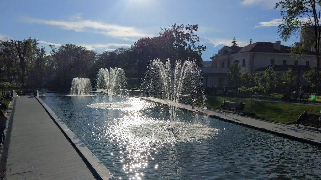 парк Шевченко фонтан