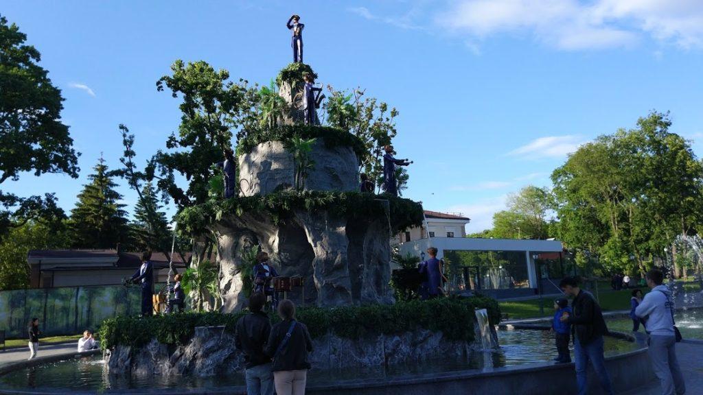 сад Шевченко фонтан