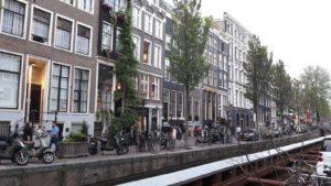 Квартал красных фонарей Амстердам