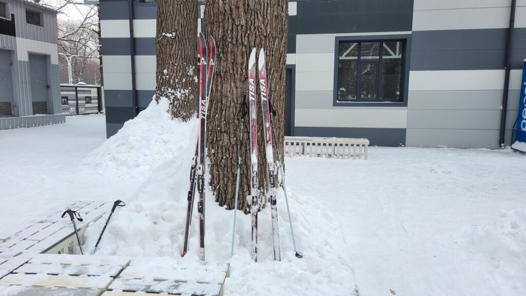 Прокат лыж в Харькове