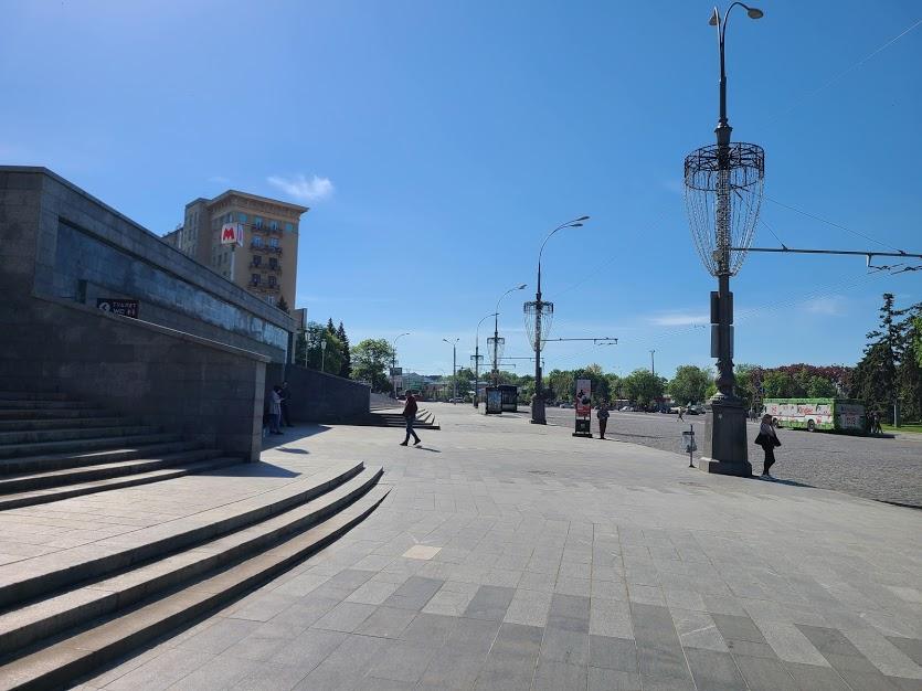 Фельдман экопарк автобус Госпром