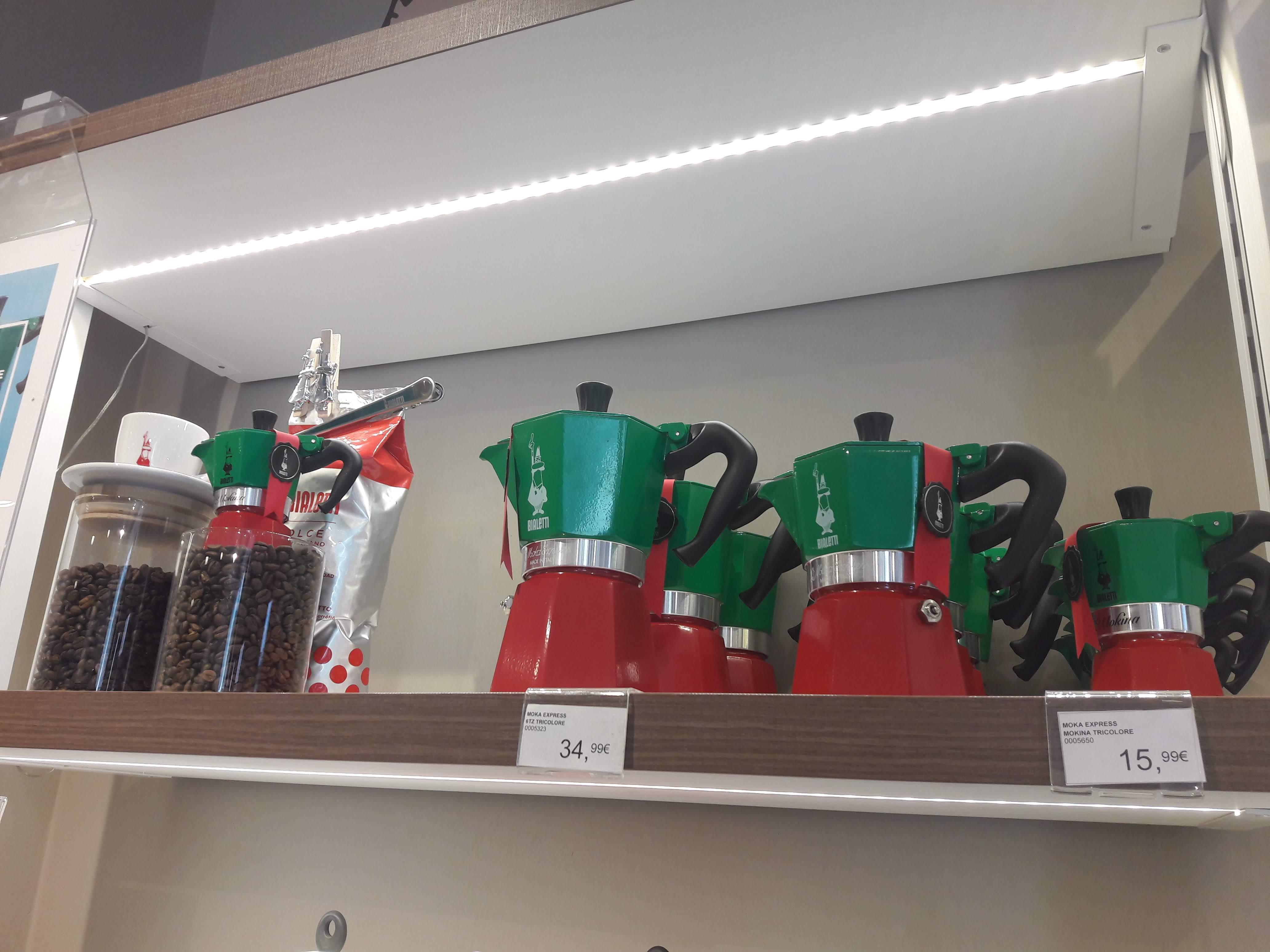 Где купить кофеварку Bialetti в Италии