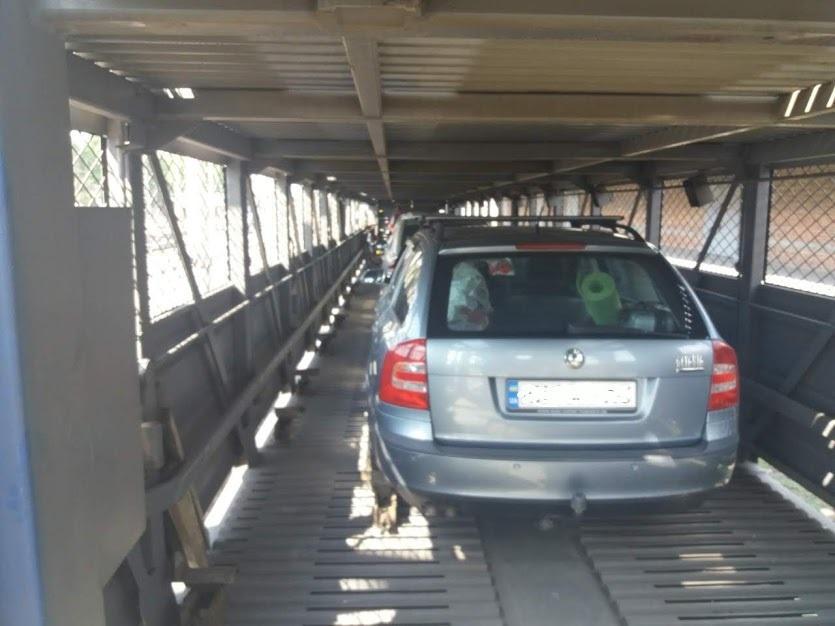 перевозка автомобиля поездом