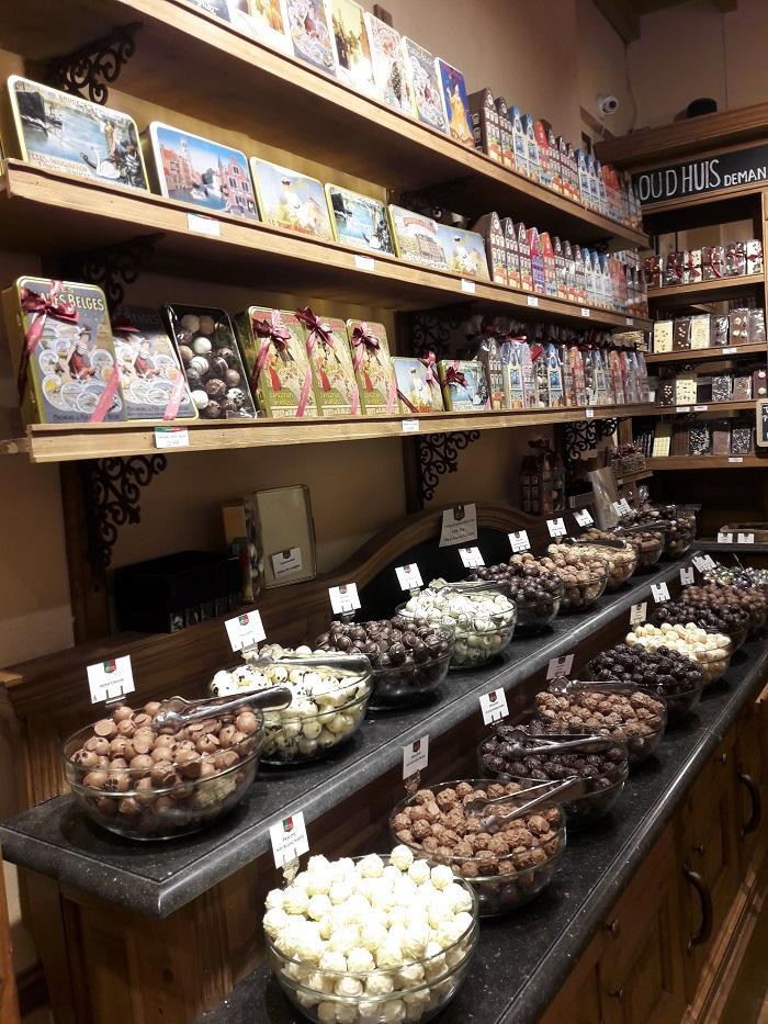 бельгийские конфеты